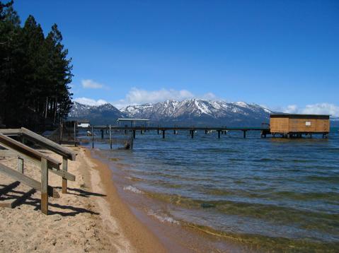 lake Tahoe playa