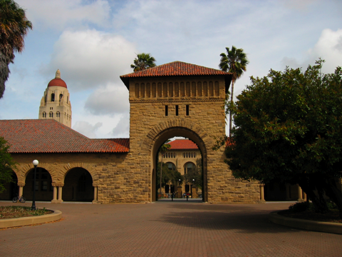patio central Stanford