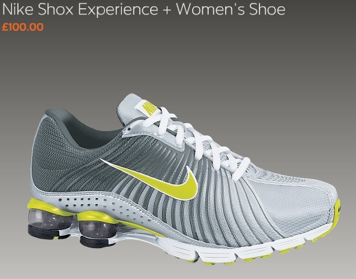 buy online 045d4 9f304 ... womens nike shox experience 2 .