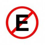 prohibido E