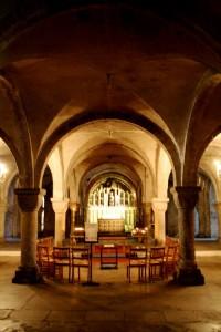 Canterbury Catedral cripta