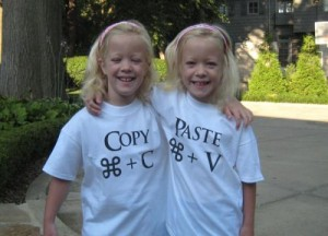 copy&paste girls