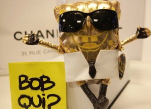 Bob Esponja by Karl Lagerfeld