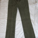 green corduroy trousers