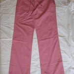 pink beach summer trousers